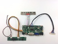 Free Shipping M NT68676 2A HDMI DVI VGA Audio LCD Controller Board Kit For 24 Inch