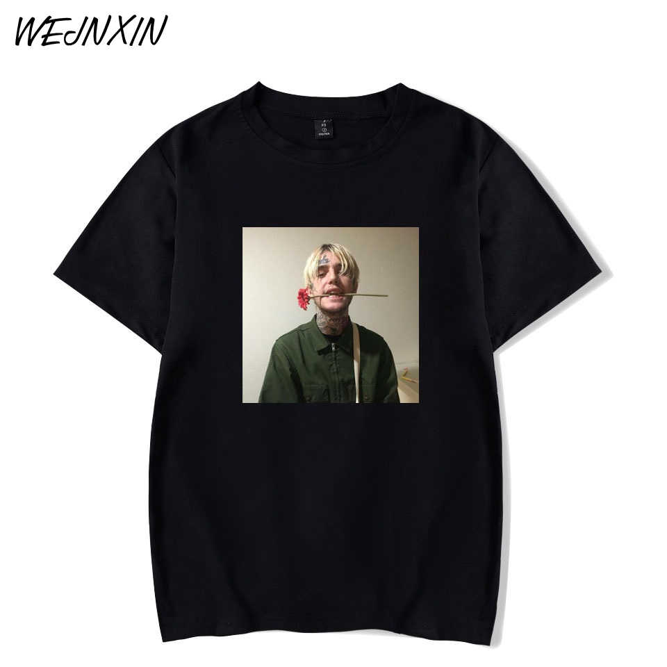 WEJNXIN Summer Lil Peep T Shirt Men Fashion Short Sleeve Cotton T-Shirt Funny O-neck Tshirt for Young Streetwear Camiseta Mujer