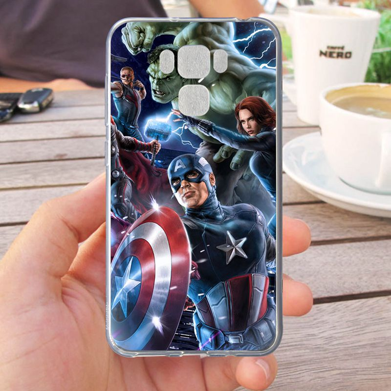 Mutouniao Avengers Design-11 Silicon Soft Case Cover For Asus Zenfone 2 3 4 Selfie Pro Laser GO Live MAX 5.0 5.2 5.5 ZB501KL