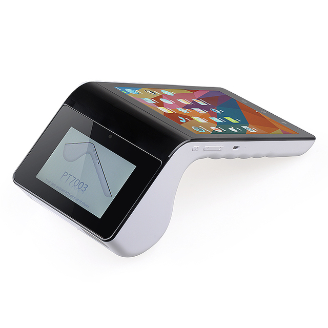 7 Inch Android Smart Pos Terminal Barcode Scanner Receipt