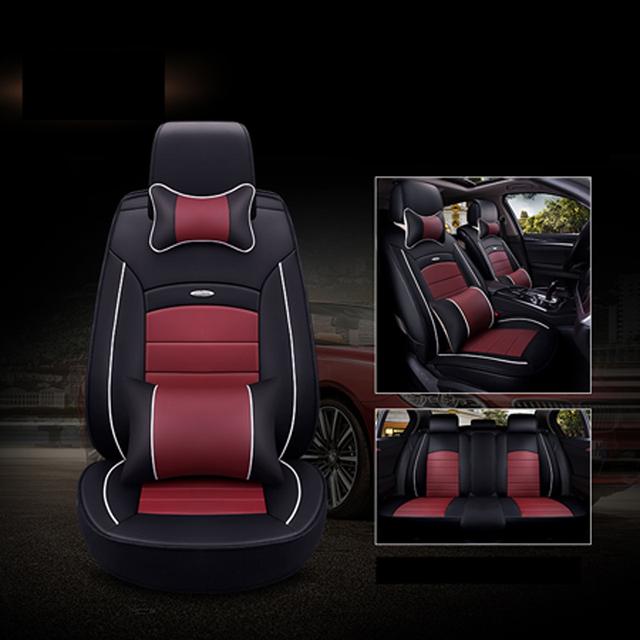 Fundas de asiento de coche Universal de cuero de alta calidad para el reposabrazos capture Renault clio duster fluence kadjar kapture koleos latitude