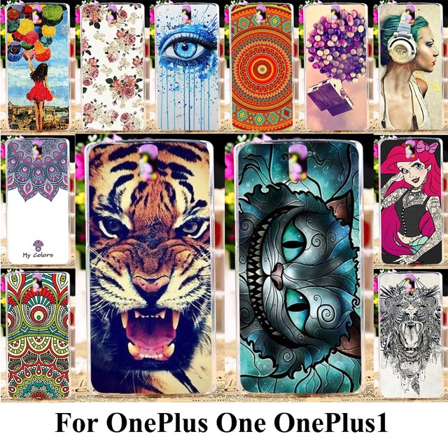 AKABEILA Silicon Plastic Phone Case For OnePlus One OnePlus1 OnePlus A0001 A1000 A1001 Housing Cover Back For OnePlus One Case