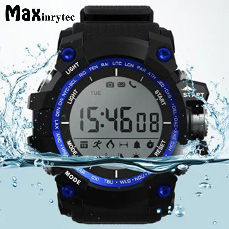 Maxinrytec XR05 Sports Health Smart Watch Support Altitude Barometric pressure Temperature UV Monitoring Bluetooth Wristwatch