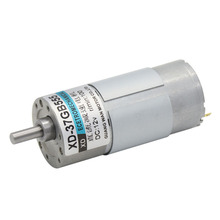 37GB555,,12V/24V Miniature DC Geared Motor, Variable Speed Slow, Small Gear, Slow CW/CCW