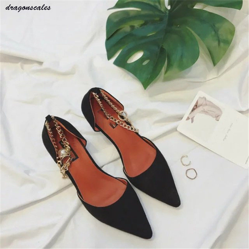 2017 Sale Zapatos Mujer Tacon In The Spring Of New Ladies Pointed Temperament Shallow Mouth Word Type Pearl Shoes Merchandiser lennon j skywriting by word of mouth