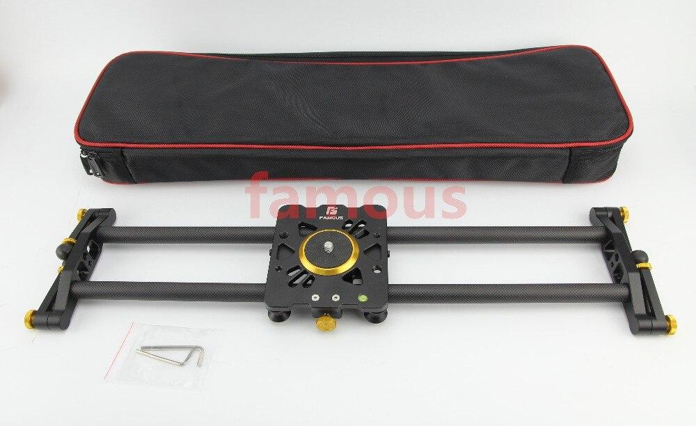 Famous Professional 60CM 100CM 80cm travel portable carbon fiber camera slider design video dolly track jib dslr rail diy dslr|dslr kits|dslr viewfinder|dslr leather camera bag - title=
