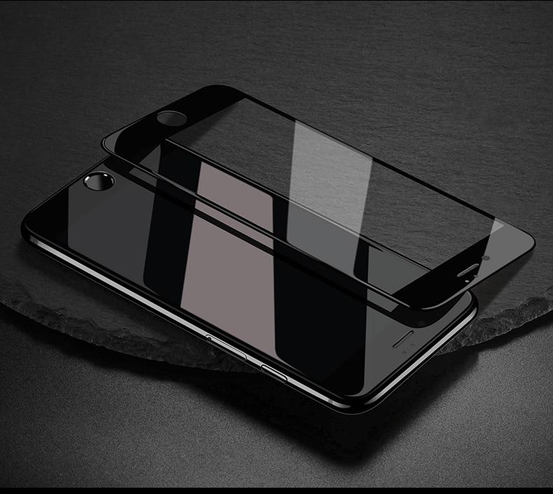 Miếng dán kính cường lực Full 10D cho iPhone SE 2020 - iPhone 7 - iPhone 8 - iPhone 7 Plus - 8 Plus - iPhone 6 - 6s - 6 Plus - 6s Plus hiệu Vmax