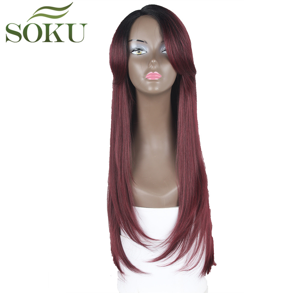 Synthetic Lace Wigs  For Black Women 26