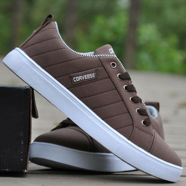 340454c3ee9 Envío gratis calzados informales para hombre moda zapato recreacional hombre  de la lona para hombre invierno