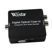 Digital TO Analog Audio Decoder Converter Coaxial/Optical Toslink SPDIF สเตอริโอแจ็ค 3.5 มม.หรือ L/R RCA Audio สนับสนุน DTS ,PCM