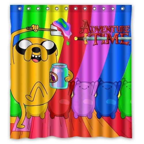 Spirit of beemo adventure time lovely kids custom Shower ...