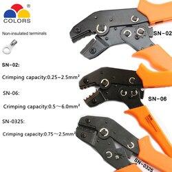 SN-02 SN-06 SN-0325 MINI EUROP STYLE narzędzie do zaciskania szczypce do zaciskania narzędzia wielofunkcyjne ręce