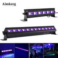 6LED 9LED 12LED Disco UV Black Lights DJ 36W Par Lamp UV Party Christmas Bar Light Laser Stage Light UV Wall Washer Spotlight