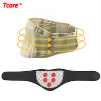 Tcare Health Care Tourmaline Waist Belt Waist Trainer Neck Support Brace Magnetic Therapy Tourmaline Set