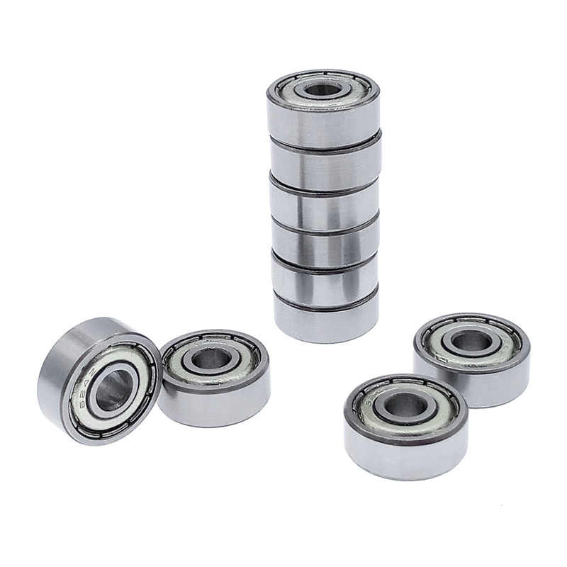 10 pcs kogellager 624 624Z 624ZZ carbon staal lager 4*13*5mm diepe groef staal verzegelde kogellagers mini lager