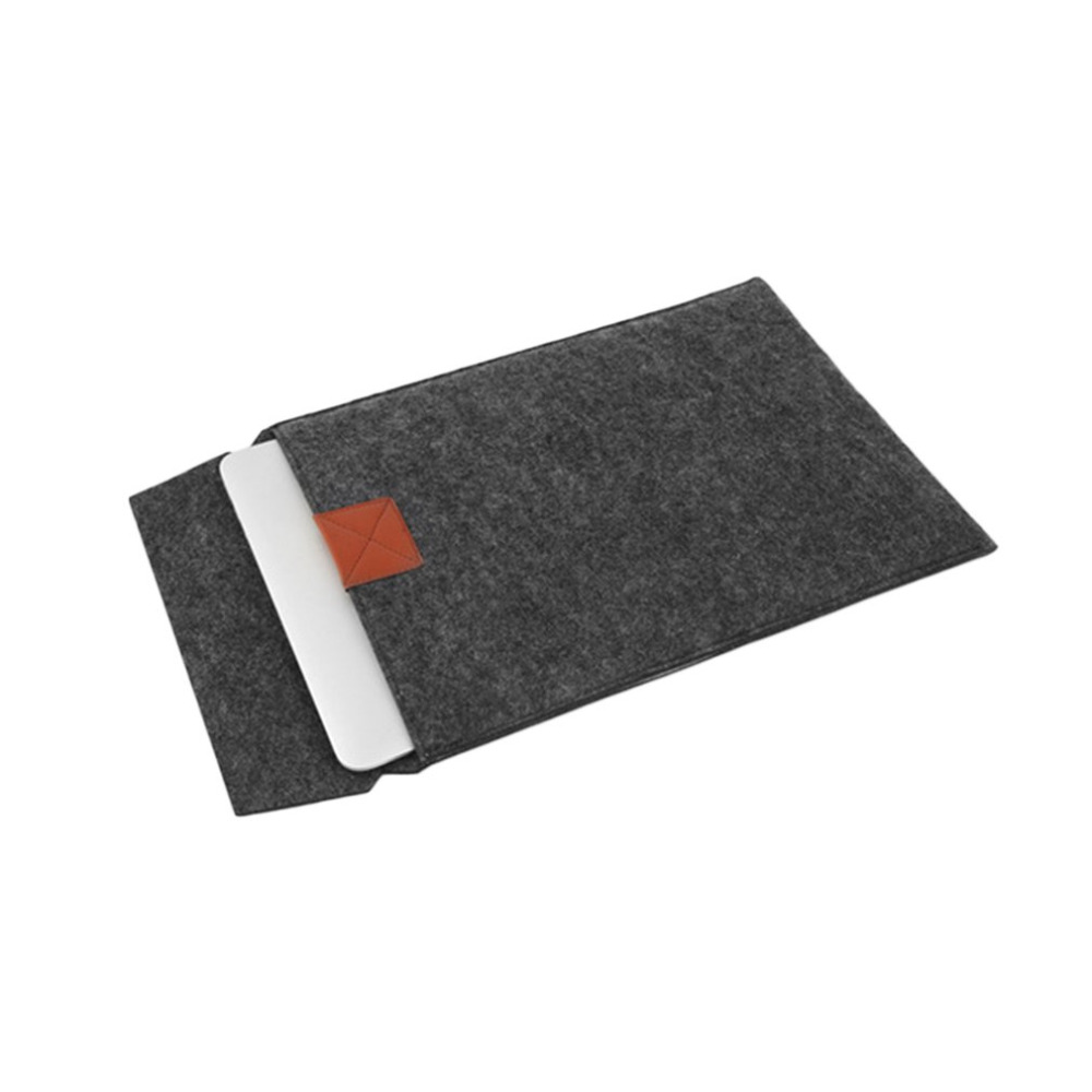 Fashion Design Soft Felt Tablet Sleeve Bag Case Ultra Thin Protective Case Cover Suitable for Macbook Air 11.6/12/13.3/15.4 Inch