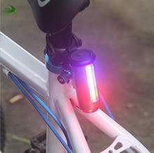 Bicycle light bike rear light USB charge LED 360 Degree Laser Cycling Tail Flashlight light Bicycle Accessories TL2063