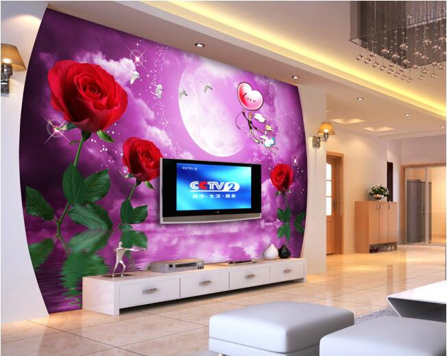 3d wallpaper custom mural non-woven 3d room wallpaper Rose couples TV setting wall murals painting photo wallpaper for walls 3d 3d wallpaper custom mural non woven 3d room wallpaper wall stickers abstract tree 3 d tv setting photo wall paper for walls 3d