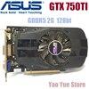 Asus GTX 750TI OC 2GB GTX750TI GTX 750TI 2G D5 DDR5 128 Bit PC Desktop Graphics