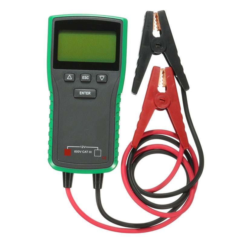 ФОТО ABS 12V 24V Digital Automotive Car Battery Load Tester Analyzer CCA Durable Quality Battery Testers