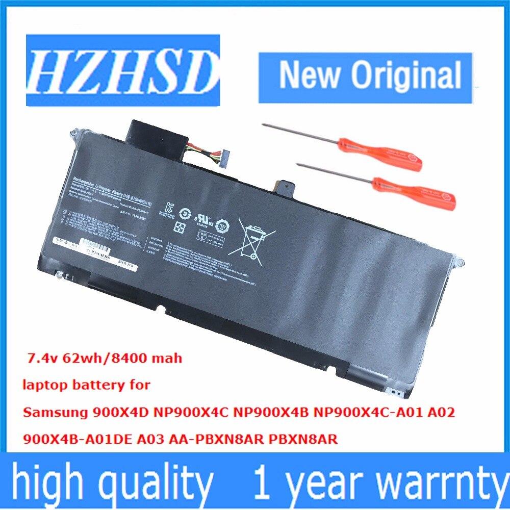 7.4 V 62Wh Nouveau AA-PBXN8AR batterie dordinateur portable pour Samsung 900X4D NP900X4C NP900X4B NP900X4C-A01 A02 900X4B-A01DE A037.4 V 62Wh Nouveau AA-PBXN8AR batterie dordinateur portable pour Samsung 900X4D NP900X4C NP900X4B NP900X4C-A01 A02 900X4B-A01DE A03