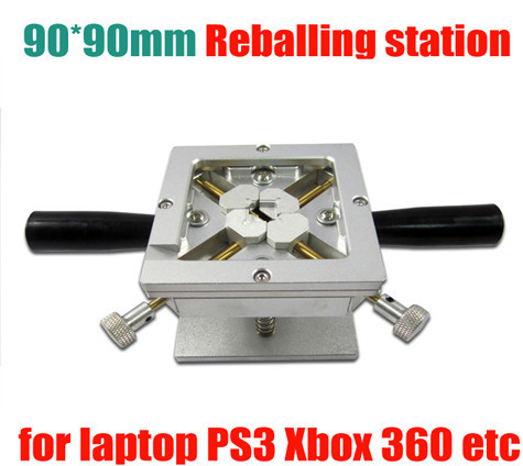 high quallity 90x90mm with Handles Support PS3 Reballing & Dual Direction Position for bga repair BGA Reballing Station Jig latest laptop xbox ps3 bga 170pcs template bga kit 90mm for chip reballing