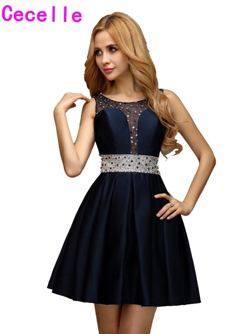 Junior Prom Dresses Navy Promotion-Shop for Promotional Junior ...