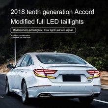 Araba Stil Kuyruk ışık Arka led ışık Montaj modifikasyonu araba farı oto lambaları Montaj Arka aydınlatma kiti