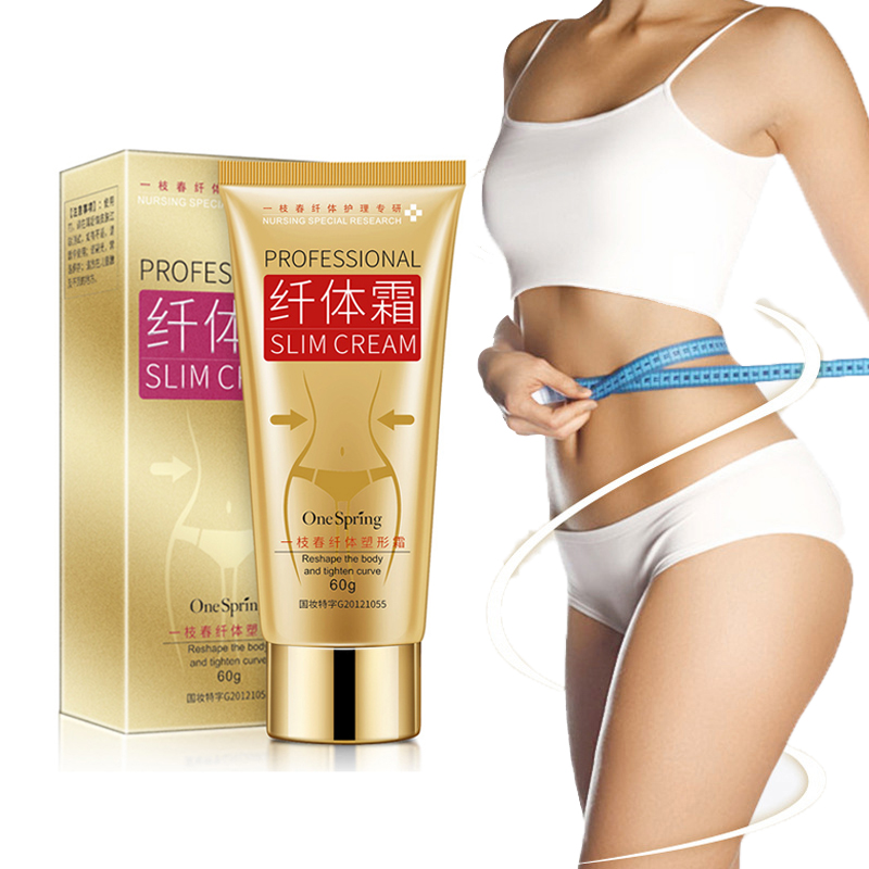 Professional Body Slimming Cream Anti Cellulite Fat Burning Cream Tighten Waist Belly Muscle Shaping Abdomen Weight Loss Creams
