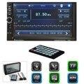 2 Din Rádio Do Carro MP5 Player 7 Polegada HD Tela Sensível Ao Toque Bluetooth Rádio FM Estéreo/Áudio/TF/USB Jogador Auto Multimídia