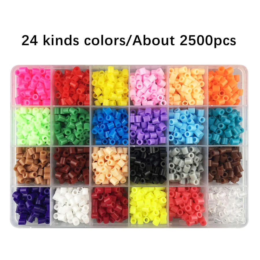 small resolution of  storage boxed perler beads hama beads abalorios children diy handmaking fuse beads 3d puzzle educational toys