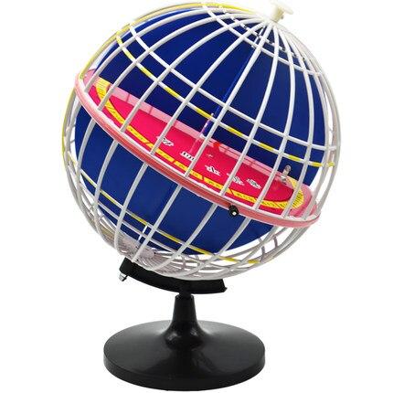 Théodolite écliptique de terre modèle Longitude et latitude 32 cm de diamètre enseignement-utilisation