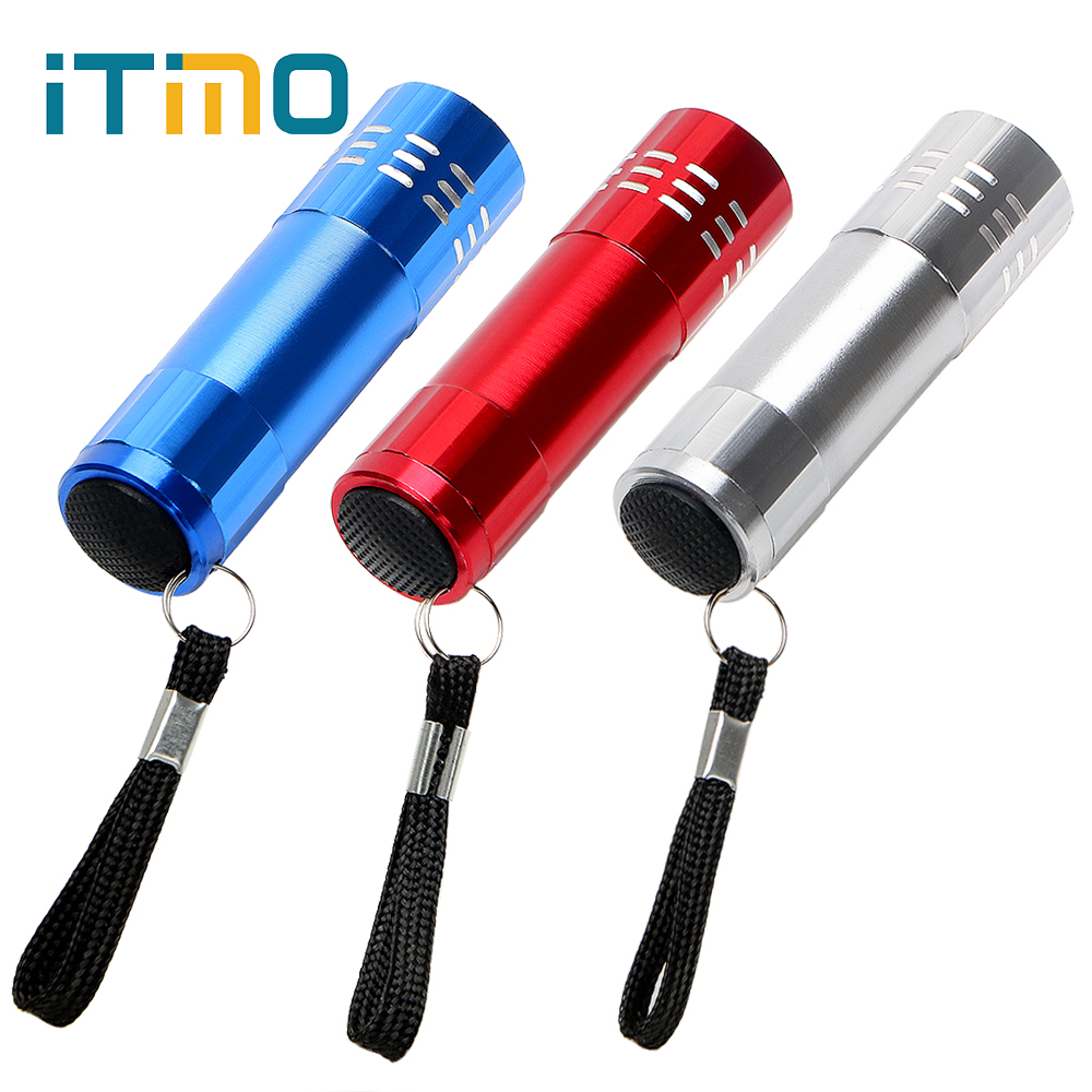 Ishowtienda Mini Led Uv Gel Curing Lamp Light Professional Dryer Fast Cure Nail Flashligh For Professional Or Home Use #y15 Portable Lighting Portable Spotlights