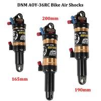 DNM AOY 36RC AM XC Bicycle Rear Shocks Mountain Bike Air Shock MTB Lockout Shock 165mm 190mm 200mm