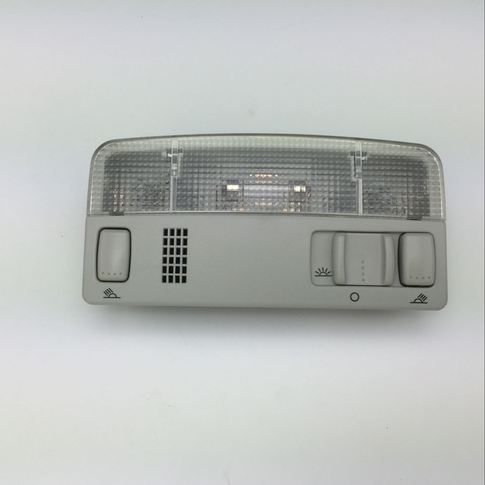 Image 2 - for VW Passat B5 Polo Touran Golf MK4 Skoda Octavia Dome Reading Light Beige or Gray Color Lamp 1TD 947 105 3B0 947 105 C-in Interior Door Panels & Parts from Automobiles & Motorcycles