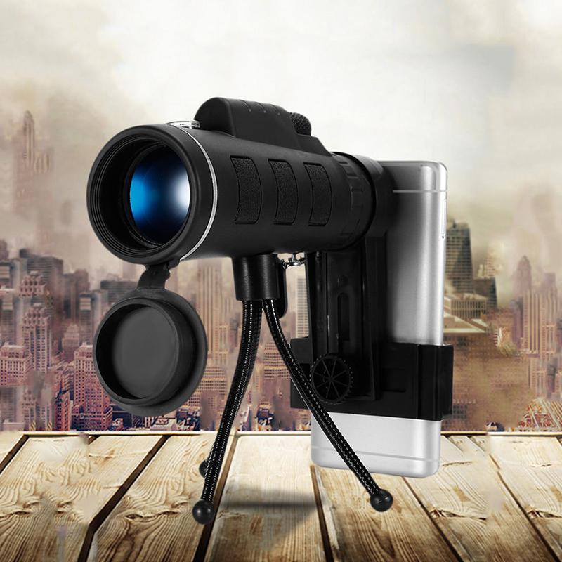 Haute Puissance 40X60 HD télescope monoculaire Shimmer vision nocturne pour En Plein Air Randonnée r30
