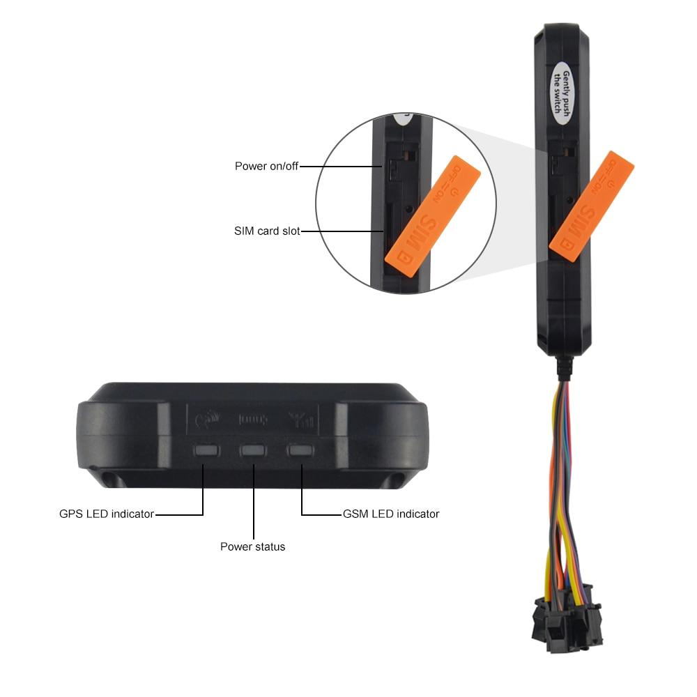 3G GPS Tracker Dispositivo di Tracciamento Auto Concox GT06E Tagliare Olio GPS Rastreador Veicular Impermeabile Chilometraggio Allarme a Vibrazione Web APP - 5
