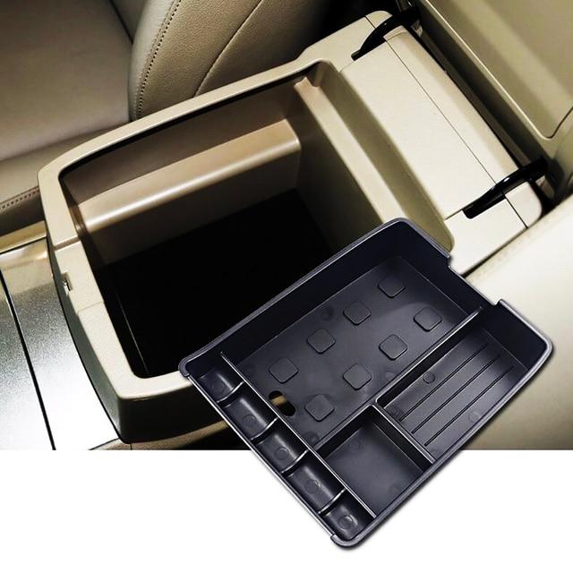 JEAZEA Center Armrest Console Storage Glove Box Holder Organizer For Toyota Highlander Kluger 2008 2009 2010 2011 2012 2013