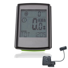 LKD-XQJ Cycling Computer Con Cadencia Inalámbrico Monitor de luz de fondo para La Pantalla LCD Del Velocímetro Del Odómetro de La Bicicleta Velocímetro de La Bici
