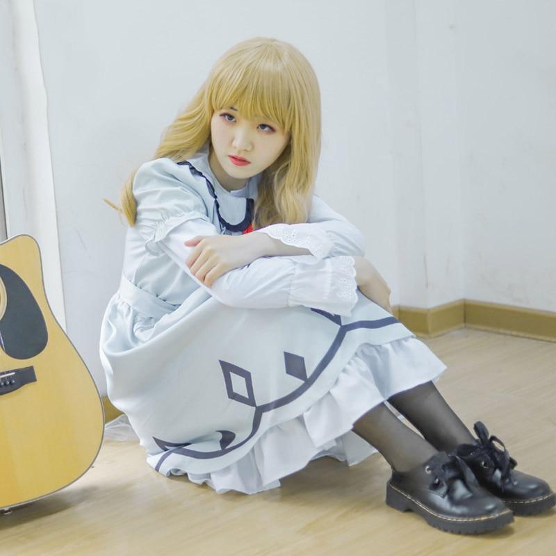Cosplaylegend Anime CAROLE TUESDAY Carole Tuesday Cosplay adult costume dress full set halloween costume
