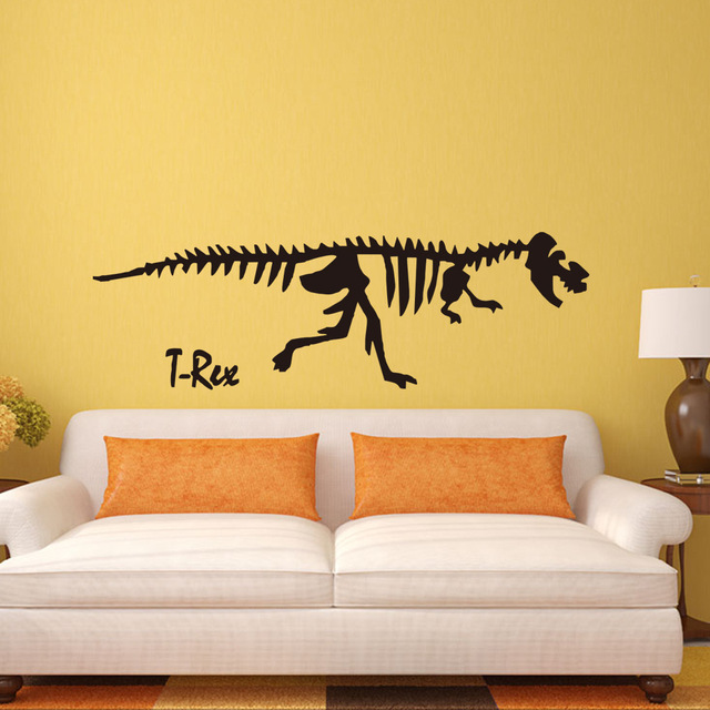 3D Can Remove The Decorative Wall Stickers Stickers Green Dinosaur ...