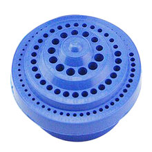 100 Hole Round Shape Drill Bit Storage Case  Hard Plastic Organizer Tool hard plastic carrying tool case