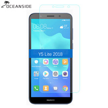For Huawei Y5 Lite 2018 Tempered Glass Screen Protector 2.5 9h Safety Protective Film on Y 5 Lite (2018) DRA-LX5 DRA LX5 LX2(China)