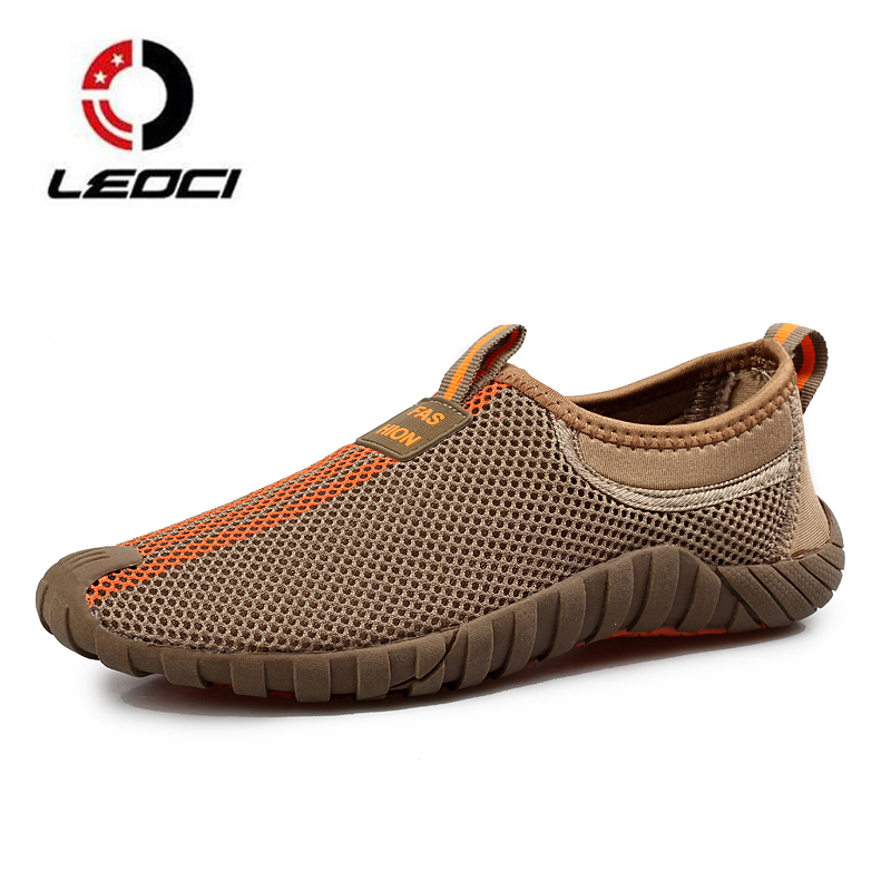 Summer Sneakers For men Breathable Mesh Unisex Running Shoes Damping Sport Shoes Woman Outdoor Jogging Walking Shoes Trainers