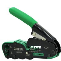 LAOA Crimping Plier Network Tools Portable Multifunction Cable Stripper Wire Cutter Cutting Crimping Pliers Terminal Tool