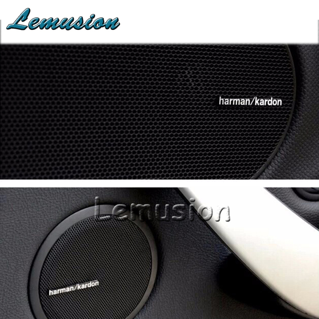 car sound sticker harman kardon styling for bmw e46 e39. Black Bedroom Furniture Sets. Home Design Ideas