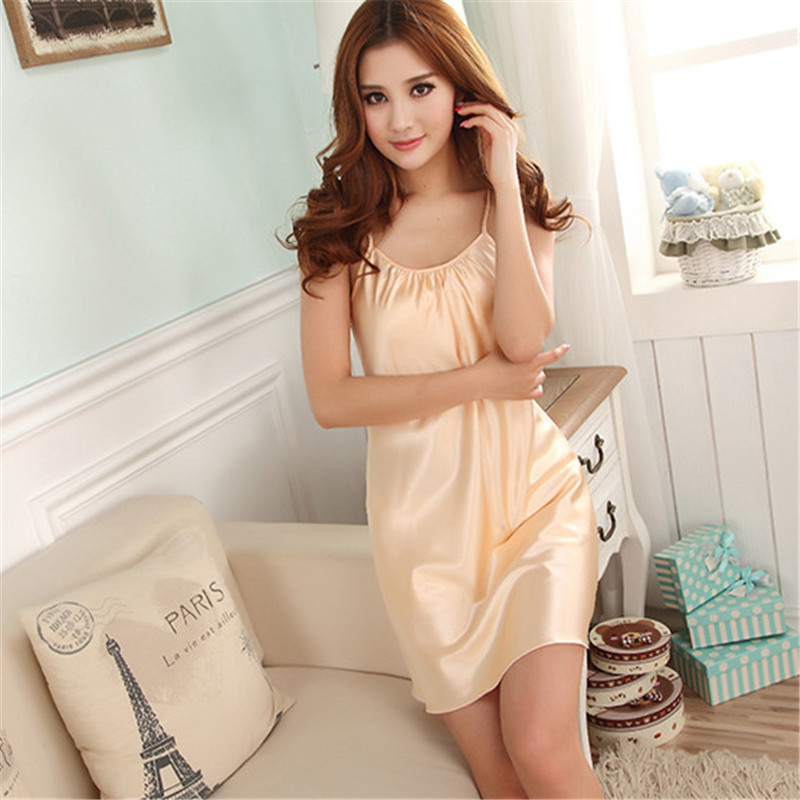 2018 New Sexy   Nightgown   Nightwear Women Dress Sexy Lingerie Nightdress sleepwear leisurewear sleepdress women   sleepshirt