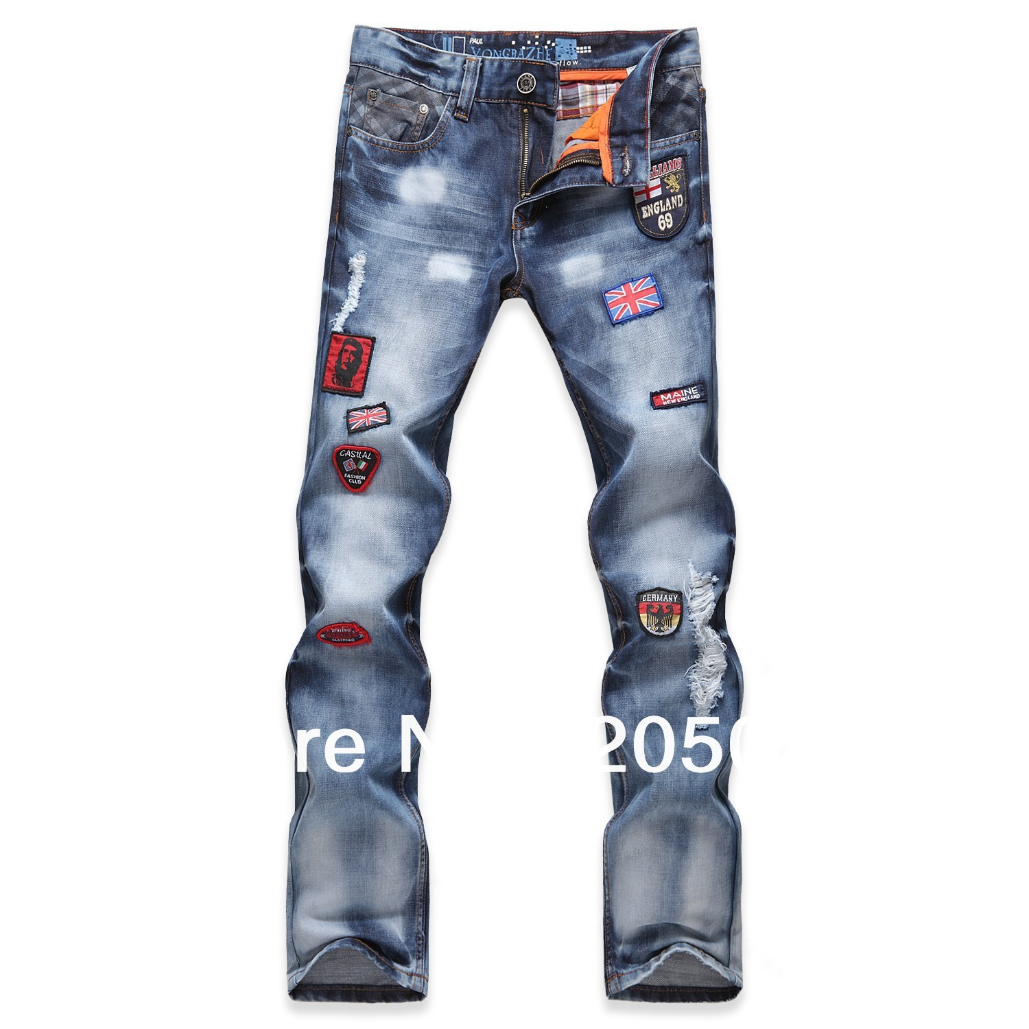 ФОТО 2013 plus size 28 to 36HOT!!! Men's jeans trousers,Leisure&Casual pants, Newly famous brand Cotton Men Jeans pants Free Shipping