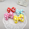 10 PCS Wholesale Girl Children Hair Clip Dot Minnie Bow Birthday Christmas Gift  Kids  Xmas Hair Accressories 8 Colors