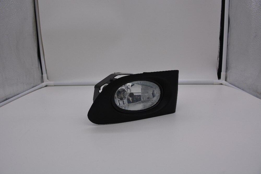 eOsuns галоген. противотуманная фара с проводкой провода, реле, выключатель, противотуманная фара доме и рамка крышки комплект для Honda город 2003-2005